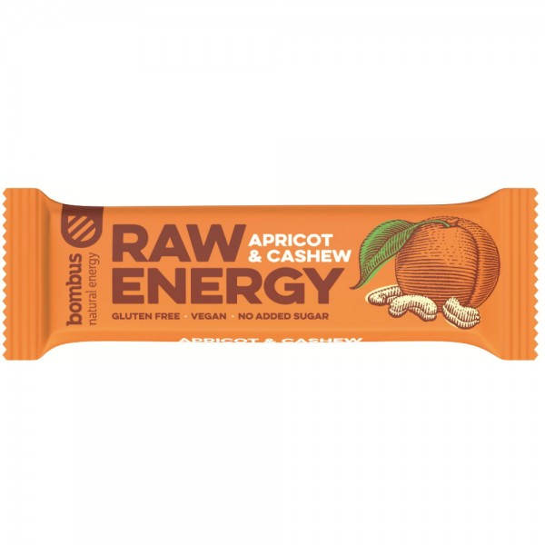 Raw Energy Aprikose Cashew Riegel 50g